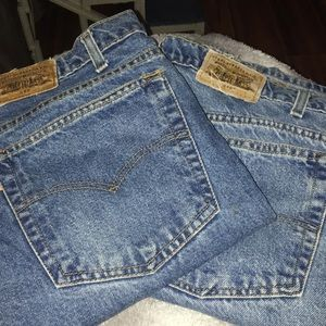 2 Pair Levi's 540 Jeans 40x34   $30 for both pairs